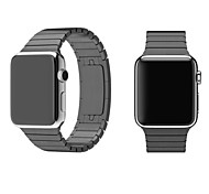 cheap -Watch Band for Apple Watch Series 3 / 2 / 1 Apple Wrist Strap Butterfly Buckle Metal Stainless Steel