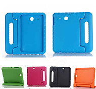 cheap -Case For Samsung Galaxy Samsung Galaxy Case Shockproof with Stand Child Safe Full Body Cases Solid Color Silicone for Tab E 9.6