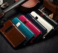 For iPhone 6 Case / iPhone 6 Plus Case Card Holder Case Pochette Case Solid Color Hard PU Leather iPhone 6s Plus/6 Plus / iPhone 6s/6