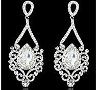 cheap -Women's AAA Cubic Zirconia Zircon Cubic Zirconia Drop Earrings - Birthstones For Wedding Party