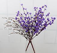 baratos -flores artificiais de alta qualidade das flores wintersweet de flores de seda para decoração de casa flor kit1pc / set