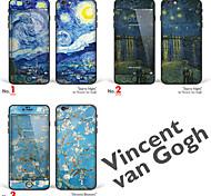 """iphone 6 плюс / 6с плюс боди-арт кожа наклейка: """"работы Винсента Ван Гога (часть 1 из 3)"""" (шедевры серии)"""