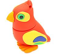zpk36 16gb rouge bande dessinée de hibou usb oiseaux 2.0 lecteur de mémoire flash u bâton
