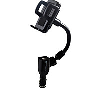 cheap -Phone Holder Stand Mount Car Adjustable Stand / Stand with Adapter Plastic for Mobile Phone