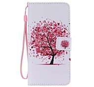 For iPhone X iPhone 8 iPhone 8 Plus iPhone 6 iPhone 6 Plus Case Cover Wallet Card Holder with Stand Flip Pattern Full Body Case Tree Hard