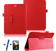 cheap -Fashion Top Quality Smart PU Leather Cover For Samsung Galaxy Tab S2 9.7 T815 Tablet Case+Free Screen Protector+ Pen