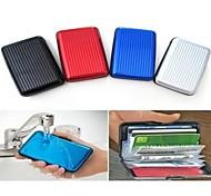 Aluminum Wallet Alloy Card Package Aluma Wallet Card Case Credit Card Box Waterproof Credit Wallet
