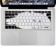 cheap -XSKN Durable Ultrathin Keyboard Cover Silicone Skin Lazy Cat for Macbook Air/Pro 13 15 17 Inch, US Layout