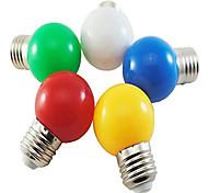 Недорогие -HRY 3000 lm E26/E27 Круглые LED лампы A60(A19) 5 светодиоды SMD 2835 Декоративная Естественный белый Зеленый Желтый Синий Красный AC