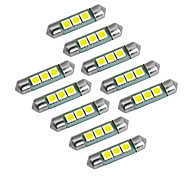 abordables -YouOKLight 10pcs Festón / T10 Bombillas SMD 5050 60lm Luz de Intermitente For Universal