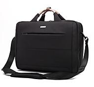 Недорогие -15,6-дюймовый ноутбук сумка на плечо водонепроницаемый нейлон ткань мессенджер ноутбук сумка мешок руки для Macbook / Dell / HP / Lenovo,