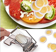 1Pcs Boiled Egg Slicer Section Cutter Stainless Steel Mushroom Tomato Cutter Kitchen Tools