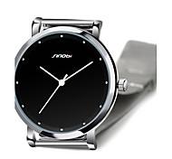SINOBI® Men's Watch High Quality Top Brand Super Slim Steel Quartz watch Males Casual Fashion Wrist Watch Cool Watch Unique Watch