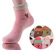 Недорогие -12 пар женские хлопчатобумажные носки случайные носки высокого качества для бега / Йога / Фитнес / Футбол / гольф