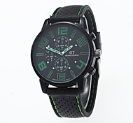 2016 New Arrival Outdoor Leisure GT Unisex Wristwatch With Silicone Strap Cool Watches Unique Watches Fashion Watch