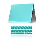 """abordables -2 en 1 caja de plástico mate de cuerpo completo con la cubierta del teclado r para el aire del macbook 11 """", pro 13"""" / 15 """""""
