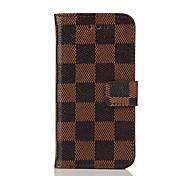 economico -custodia per iphone 8 8 plus custodia porta carte di credito con supporto modello flip custodia completa per il corpo motivo geometrico hard pu per
