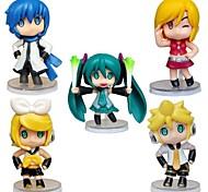 economico -Altro Hatsune Miku PVC Figure Anime Azione Giocattoli di modello Doll Toy