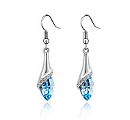 cheap -Women's Drop Earrings Crystal Glass Alloy Butterfly Animal Jewelry Party Daily Casual Costume Jewelry