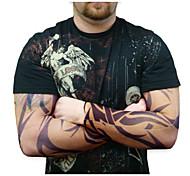la metà Manicotti del tatuaggio per gli uomini 2016 scalda nuovo arrivo bracciale ciclismo sole traspirabilità bicicletta elastico