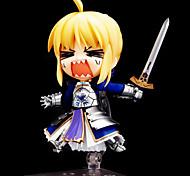 Anime Action-Figuren Inspiriert von Fate/stay night Saber 10 CM Modell Spielzeug Puppe Spielzeug