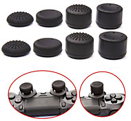 cheap -8pcs/Lot Analog ThumbStick Joystick Grips Extra High Enhancements Cover Caps For Sony Play Station PS4 Game Controller
