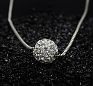 cheap -Women's Pendant Necklace - Fashion Simple Style Silver Necklace For Special Occasion Birthday Gift