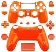 Replacement Controller Case for PS4 Controller PS4 Case (Orange/Purple/Pink)
