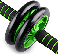 Two-Wheeled AB Round Push Home Fitness  Abdominal Wheel Wheel Mute AB Is Environmentally