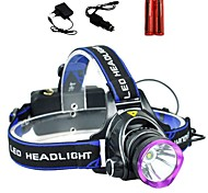 LS1792 Headlamps Headlight LED 2000 lm 3 Mode Cree XM-L T6 Adjustable Focus Impact Resistant Rechargeable Waterproof Strike Bezel Compact