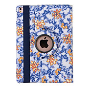360 Degree Blue And White Porcelain PU Leather Flip Cover Case for iPad Air3 /iPad Pro Mini (Assorted Colors)