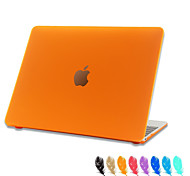 "Case for Macbook Air 11.6""/13.3"" Solid Color ABS Material Matte Plastic Hard Full Body Case Cover"