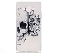 For Samsung Galaxy Case Pattern Case Back Cover Case Skull PC Samsung A7(2016) / A5(2016) / A3(2016) / A5 / A3