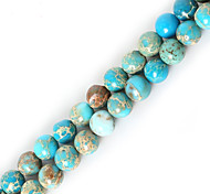 cheap -Beadia 1Str(Approx 63pcs) 6mm Round Natural Stone Beads Dyed Colors Sea Sediment Jasper Beads