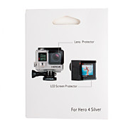 Недорогие -Защитные пленки Сенсорный дисплей Для Экшн камера Gopro 4 Gopro 3+ Авто Езда на снегоходах Кино и Музыка Охота и рыболовство