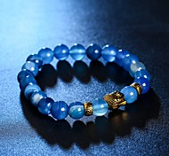 cheap -New Arrival Stone Buddha Religion Bracelet Strand Bracelets Daily / Casual 1pc Christmas Gifts