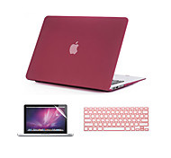 abordables -MacBook Funda para Color sólido ABS MacBook Air 13 Pulgadas MacBook Air 11 Pulgadas