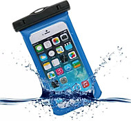 cheap -Case For iPhone 6s Plus iPhone 6 Plus iPhone 6s iPhone 6 iPhone 5 iPhone 5C Universal iPhone 4/4S Waterproof with Windows Pouch Bag Solid