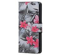 Pour Coque Asus Porte Carte Avec Support Clapet Motif Coque Coque Arrière Coque Dessin Animé Dur Cuir PU pour AsusAsus Zenfone Max