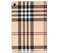 abordables -el caso de cuero de lujo de rejilla ultrafina HQ para el aire iPad 2 Smart Cover de Apple ipad pro de la tableta 12.9 pulgadas