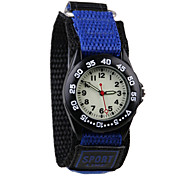 Fashion Woven Children's Sports Watch Cool Watches Unique Watches Strap Watch