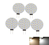 cheap -SENCART 5pcs 2W 3000-3500/6000-6500 lm G4 LED Spotlight MR11 36 leds SMD 3014 Decorative Warm White Cold White AC 12V DC 12V