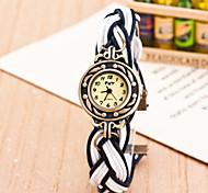 cheap -Women's Quartz Wrist Watch Casual Watch Fabric Band Bohemian Fashion Multi-Colored