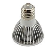Недорогие -3.5W 300-350 lm GU10 E26/E27 Светодиодные параболические алюминиевые рефлекторы PAR20 1 светодиоды COB Диммируемая Тёплый белый Холодный