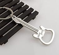 cheap -Gift Zinc Alloy beer guitar bottle opener bottle opener keychain keyring key chain key ring