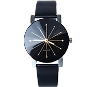 Women's Leather Band White Case Analog Quartz Wrist Watch Gift Cool Watches Unique Watches Fashion Watch Strap Watch