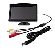 5 Inch 800X480 TFT-LCD Car Rearview Monitor With Stand Reverse Backup Camera High Quality