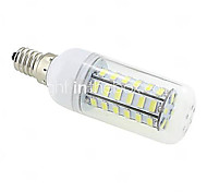 cheap -10W 1000 lm E14 G9 E26/E27 B22 LED Corn Lights T 48 leds SMD 5730 Warm White Cold White AC 220-240V