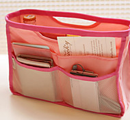 color del caramelo bolsas de viaje portátiles cosméticos paquete de admisión de lavado paquete paquete paquete de acabado