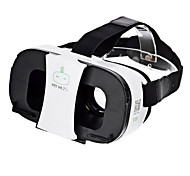 cheap -FiiT VR 2s Virtual Reality 3D Video Helmet Glasses - White + Black